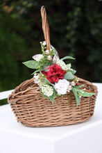 Load image into Gallery viewer, Floral Basket - Deck the halls