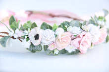 Load image into Gallery viewer, Flower crown - Dolly
