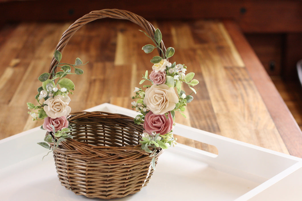 Floral basket - All that glitz