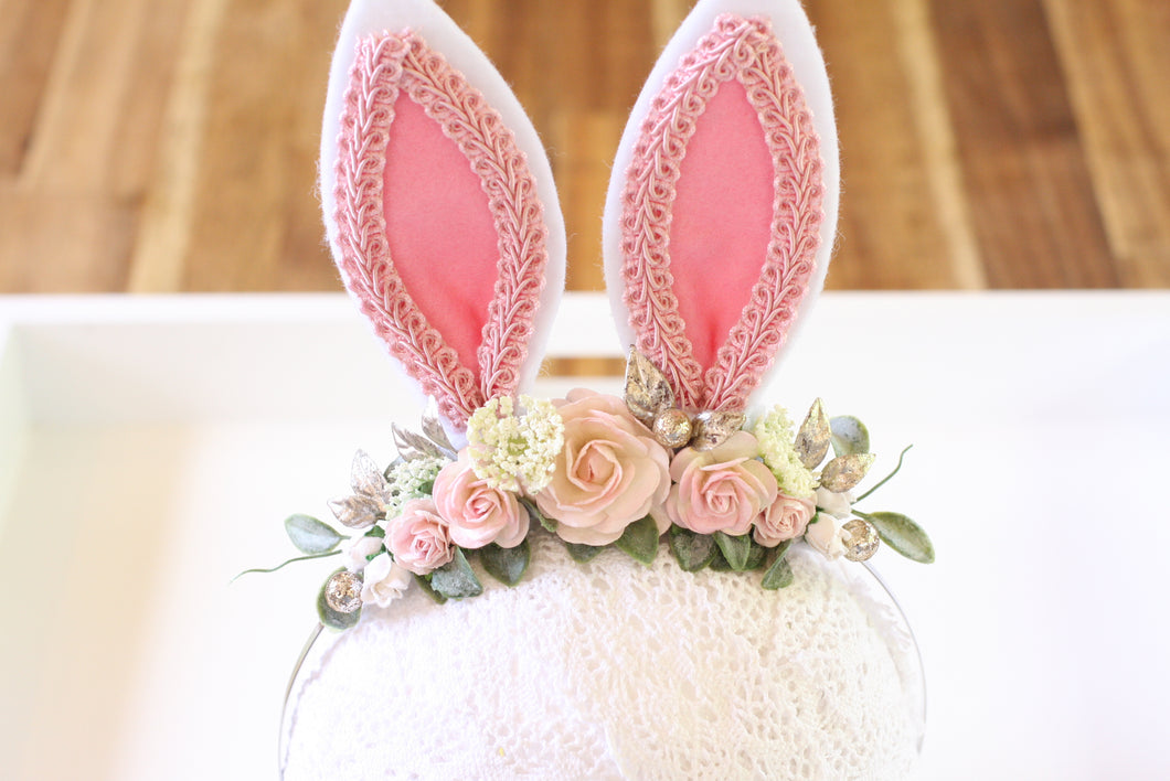 Floral headband - Cotton Tail