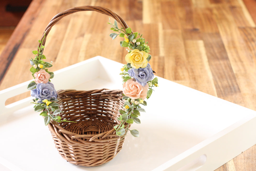 Floral Basket - Summer Delight
