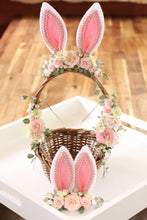 Load image into Gallery viewer, Floral Basket - Cotton Tail