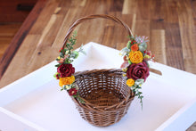 Load image into Gallery viewer, Floral Basket - Autumn
