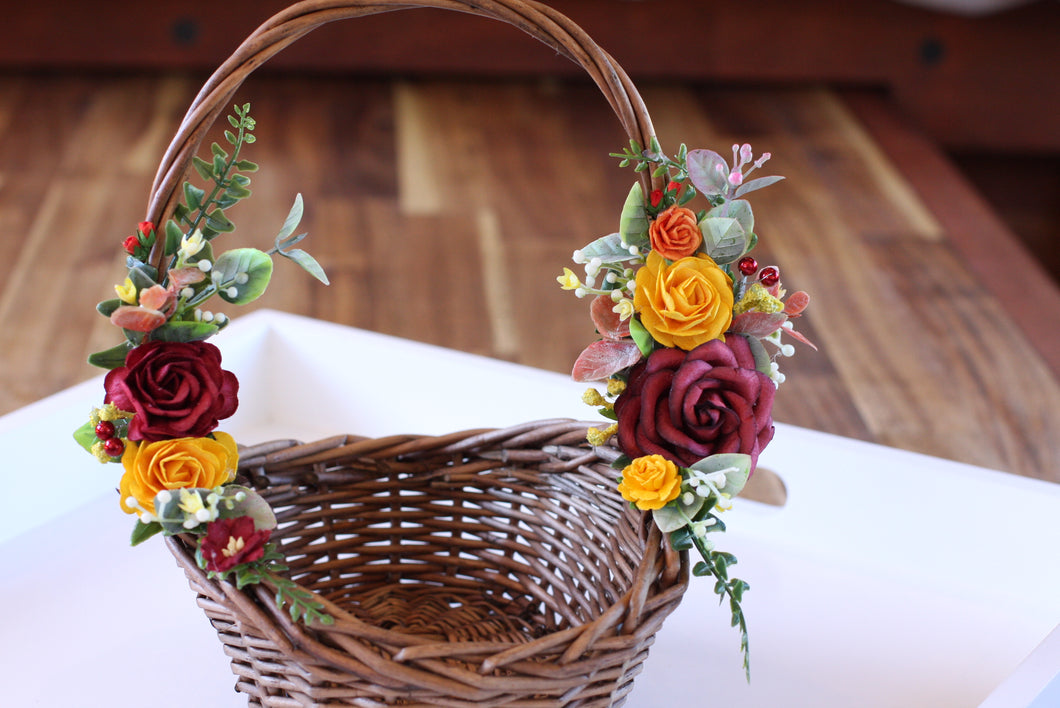 Floral Basket - Autumn