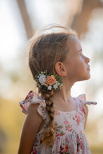 Load image into Gallery viewer, Floral headband/Clip - Perfectly peach