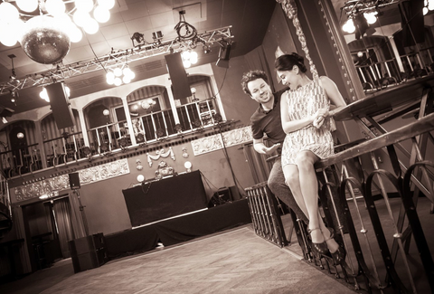 Fotoshootings im Ballhaus Berlin, Tanzlehrer Claire & Fabian, Lindy Hop, Swing, Blues, Charleston