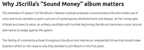 bitcoin takeover podcast x sound money