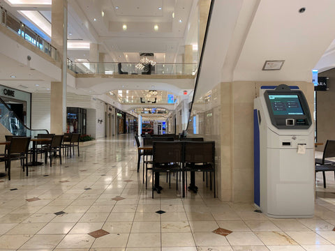 bethesda maryland. bitcoin atm at westfield montgomery mall operated by rare scrilla