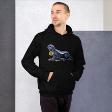 Load image into Gallery viewer, Unisex Head Bitcoin Badger In Charge Hoodie