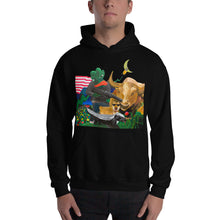 Load image into Gallery viewer, Bitcoin Meme Dream Hooded Sweatshirt