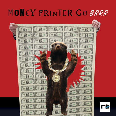 Money Badger 1/1 Audio NFT