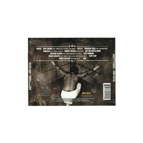 "DEAD STOCK REEF THE LOST CAUZE vs. GUNS-N-BUTTER ""FIGHT MUSIC"" CD"