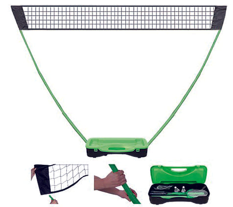 SET BADMINTON PORTATIL