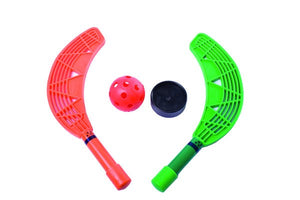 SET MINIHOCKEY 12 pales + past + bola