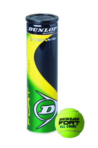DUNLOP PELOTA FORT ALL COURT BOTE DE 3