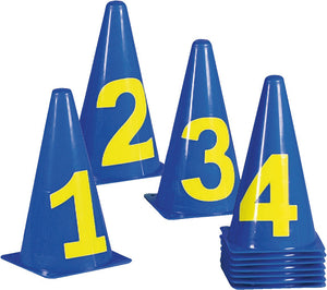 NUMBERED CONES GAME