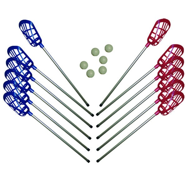 SET LACROSSE ( 12 stick+6 pel. )