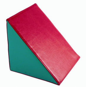 LEATHER PRISM 25 x 25 x 25 cm