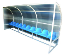 Laden Sie das Bild in den Galerie-Viewer, SUBSTITUTE BENCH 5 SEATS 2.5mts