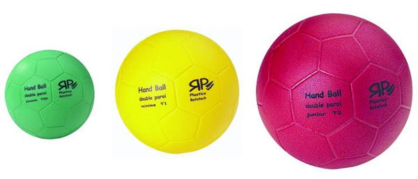 BALONMANO T. BALL 1. DOUBLE LAYER