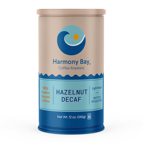 Hazelnut Decaf 12oz Can
