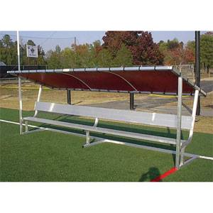 Pevo 8' Covered Bench