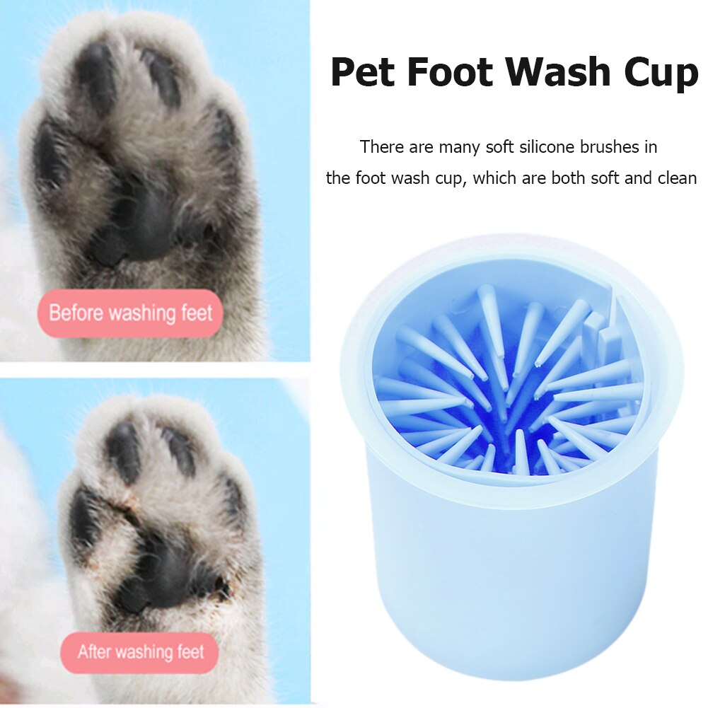 Pets Paw Cleaner Cup