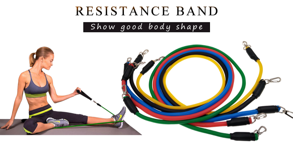 Pull rope resistance band