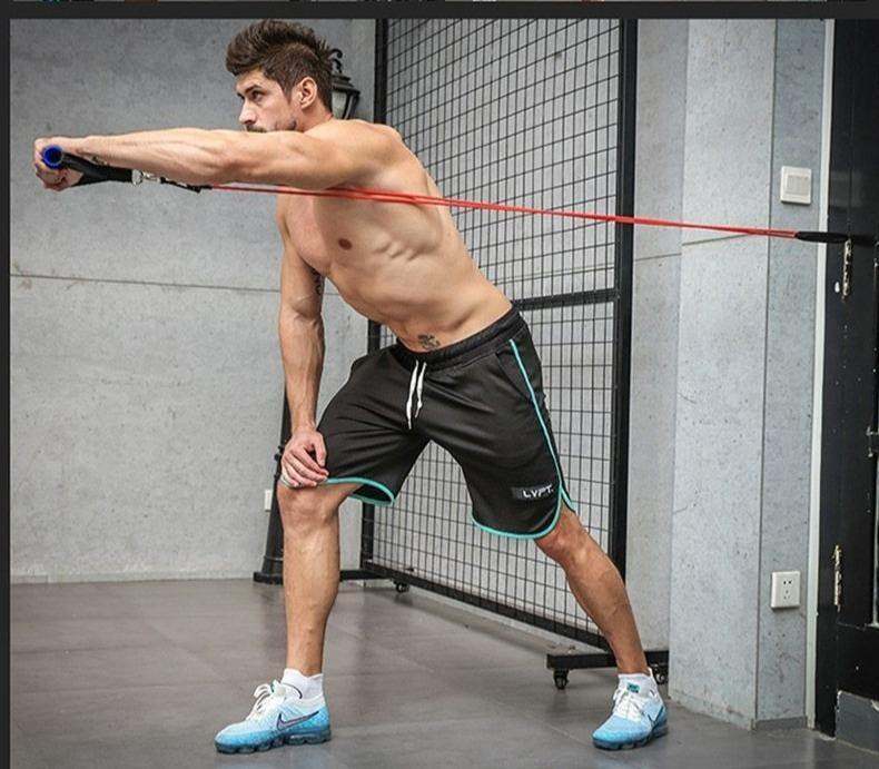 Pull Rope Fitness Exercises Resistance Band - ReflexCart