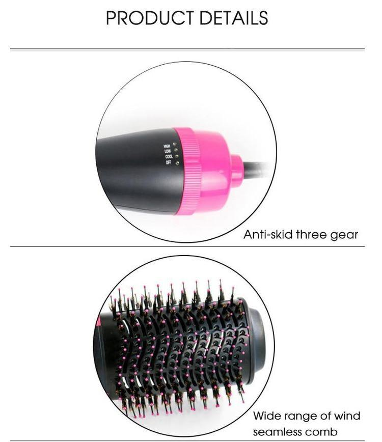 One Step Hair Dryer And Comb