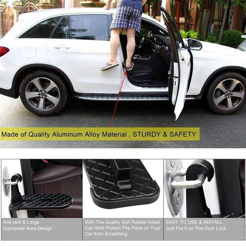 2 in 1 Car Folding Foot Pegs