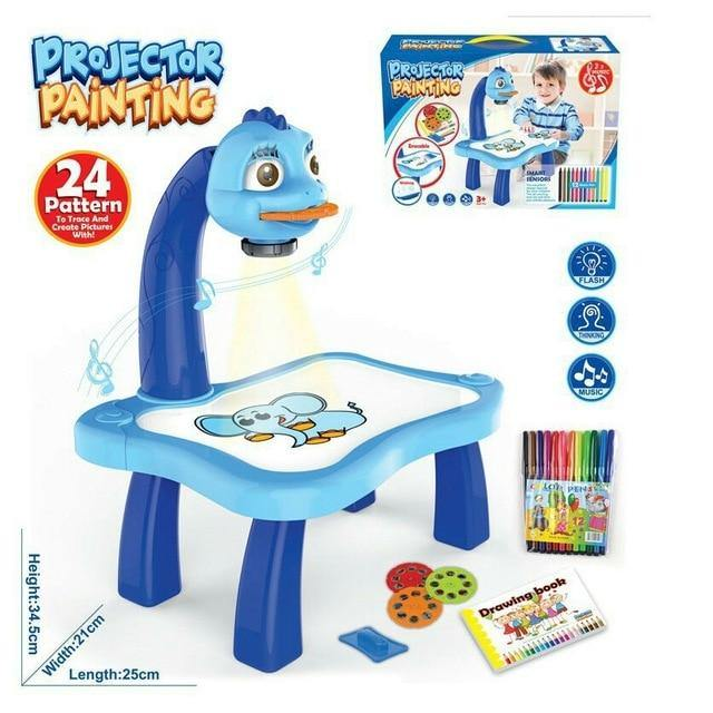 Led Projector Drawing Table
