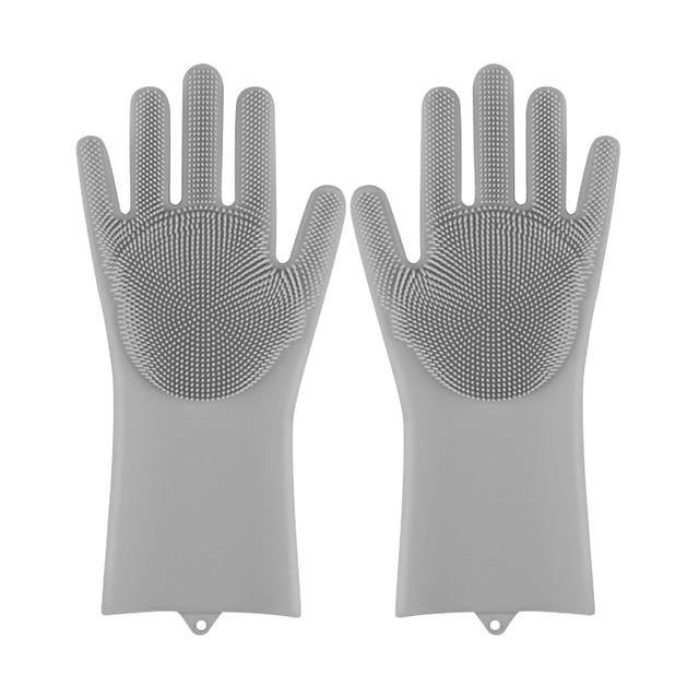 Magic Silicone Pet & Dish washing Gloves - ReflexCart