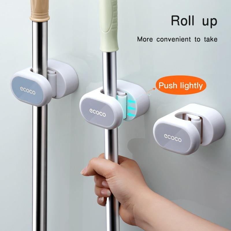 Wall Mounted Mop Holder