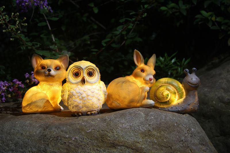 LED Waterproof Animal Solar Lamp