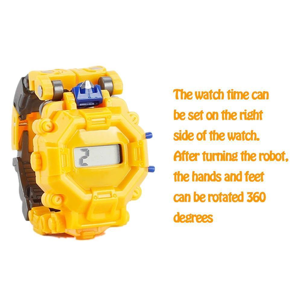 Robot Transformation Wristwatch
