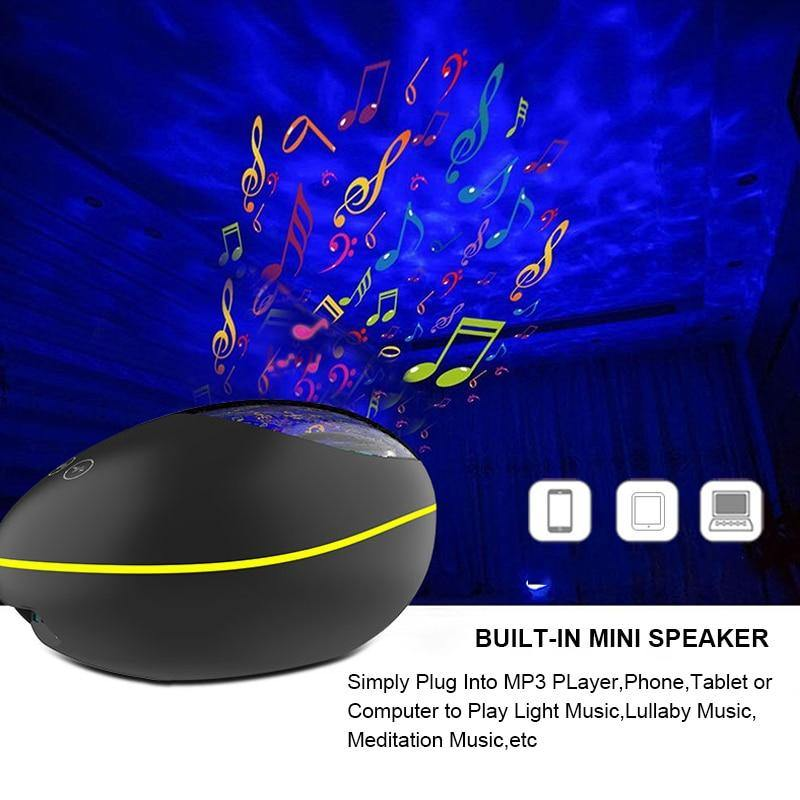 LED Star Projector Speaker