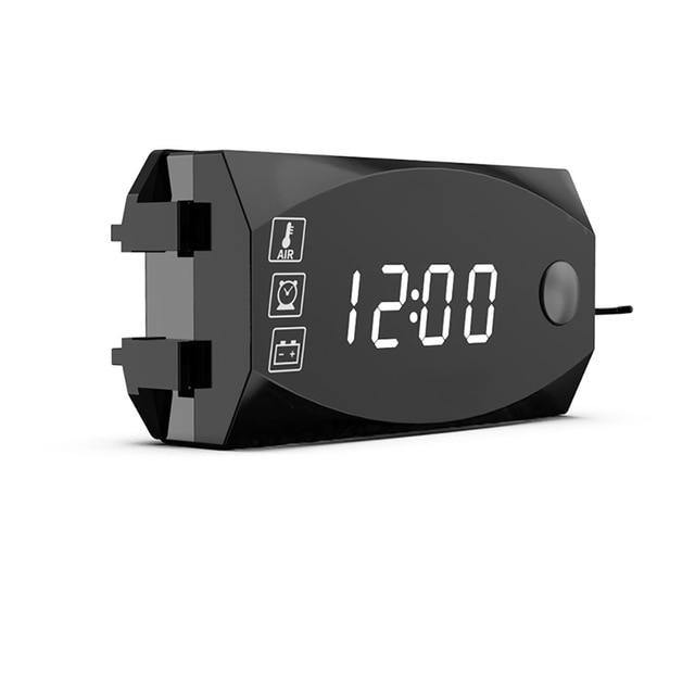 LED Digital Voltmeter Clock