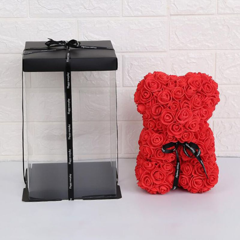 Rose Teddy Bear Valentine Gift