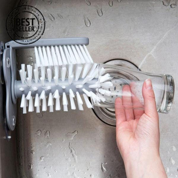 Magic Suction Cup Brush