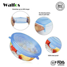 Load image into Gallery viewer, The Original Walfos Silicone Stretch Storage Lids