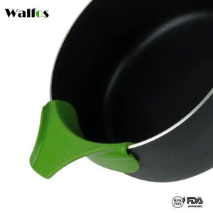 Walfos Silicone Anti-Spill Pourer [Pack Of 2]