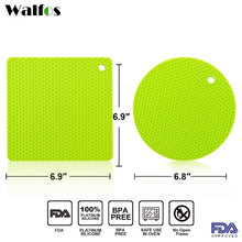 Load image into Gallery viewer, Walfos™ Silicone Heat-Resistant Trivet Set