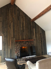 Load image into Gallery viewer, rustic wood - natural, white, and black PLANKS -  20sf per box