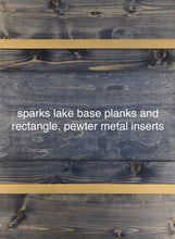 Load image into Gallery viewer, sparks lake blend PLANKS - 20sf per box (blue)