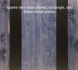 sparks lake blend PLANKS - 20sf per box (blue)