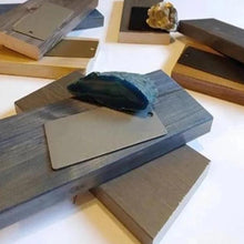 Load image into Gallery viewer, wood and metal samples