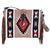 XWLB-163 Twisted X Wool Saddle Blanket Bag Tan Aztec