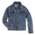 GWJ700D Wrangler® Western Kid's Denim Jacket Top - Dark Denim Wash