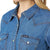 LW7006D Wrangler® Western Women's Denim Long Sleeve Top Snap